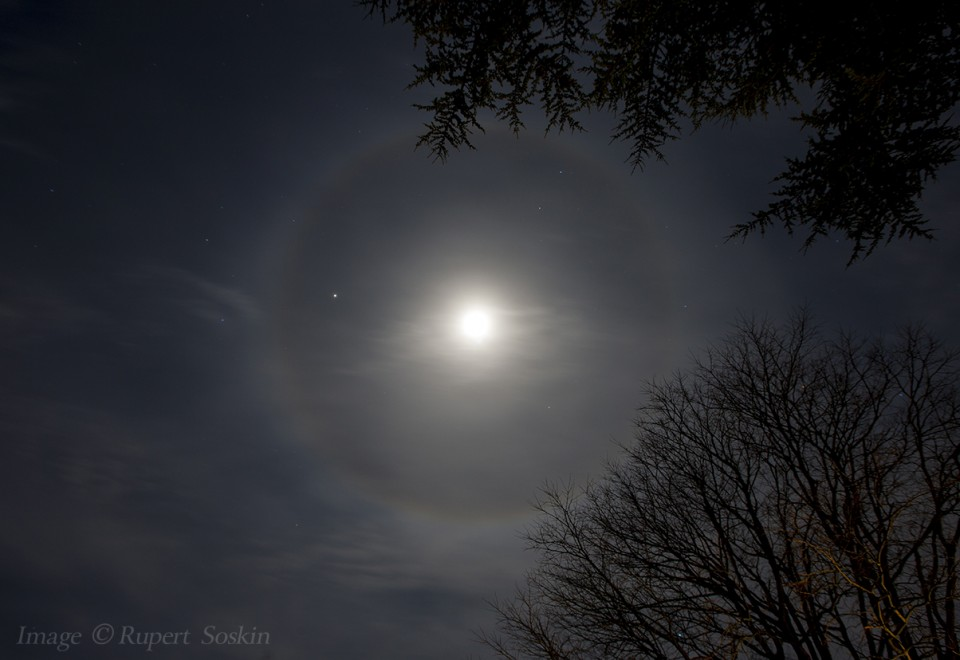 Lunar Halo - Click here to view this news entry